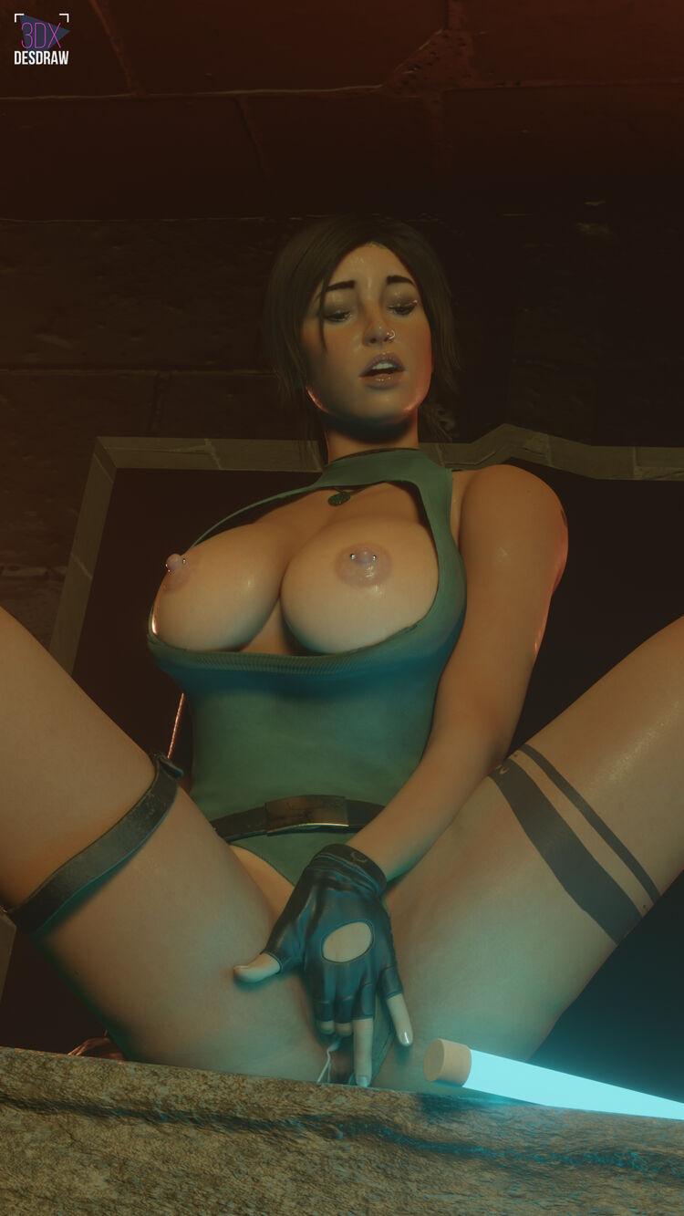 lara is a naughty girl