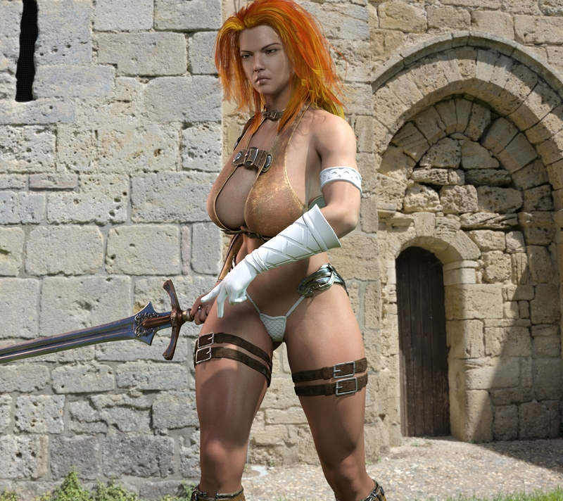 Stjerna is a warrior