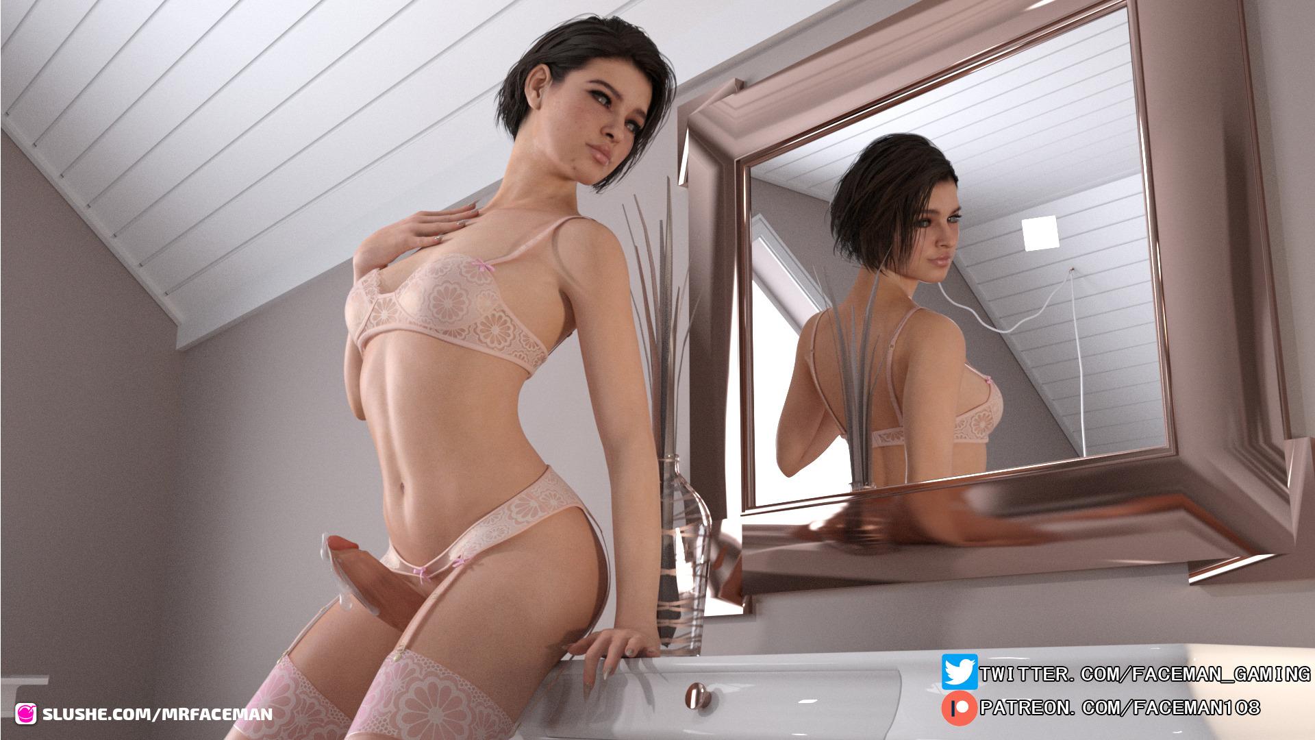 Jill Valentine Futa Girl