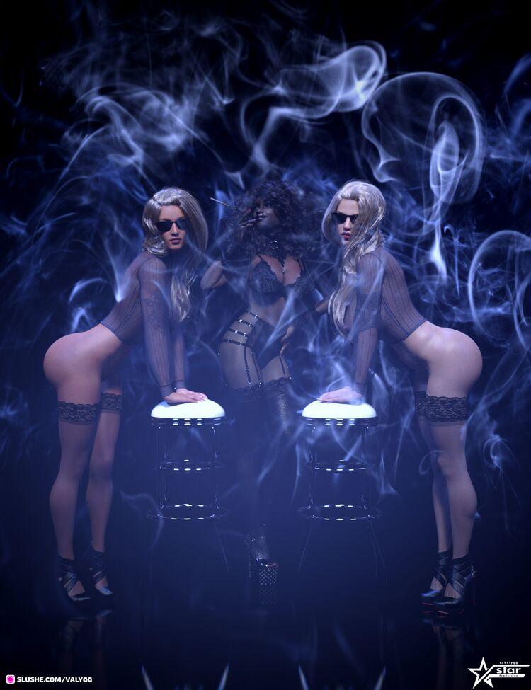 Smoking Hot Trio
