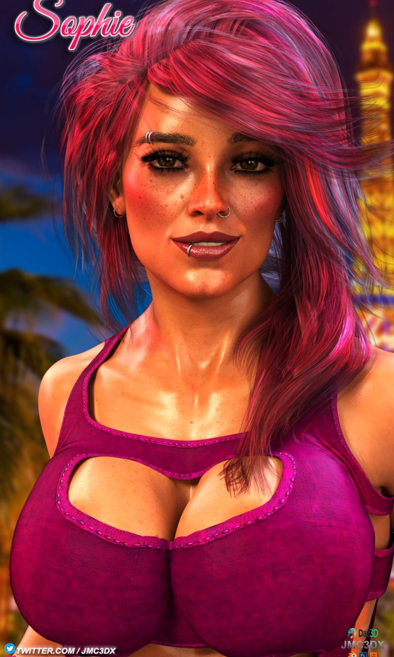 JMC3DX DAZ3D CREATIONS: Sophie's night out