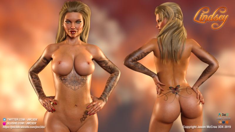 JMC3DX Daz3D Creations: Lindsey