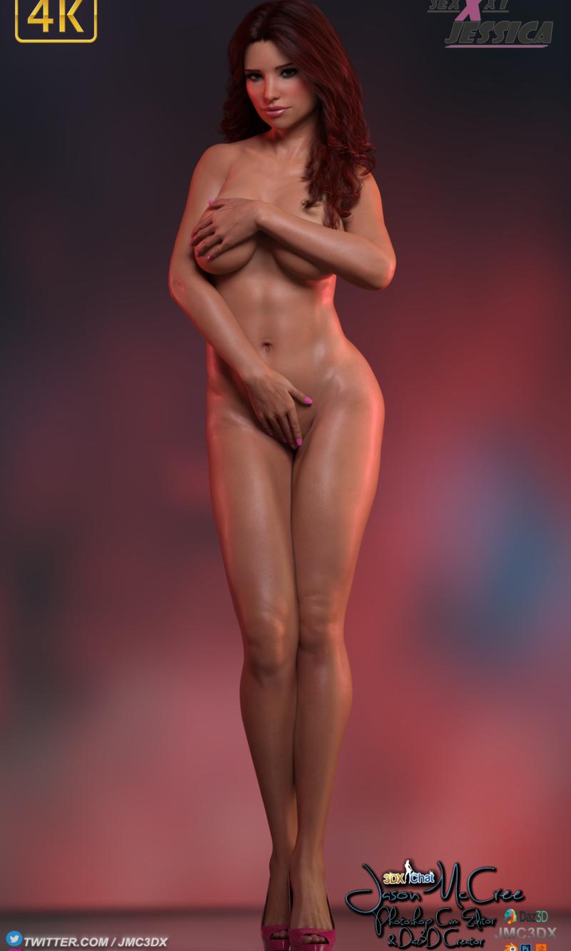 JMC3DX DAZ3D CREATIONS: SexxxyJessica