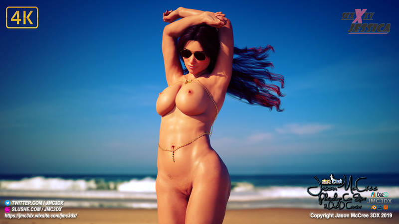 JMC3DX DAZ3D CREATIONS : Sexxxyjessica (from 3dxchat) the extra's