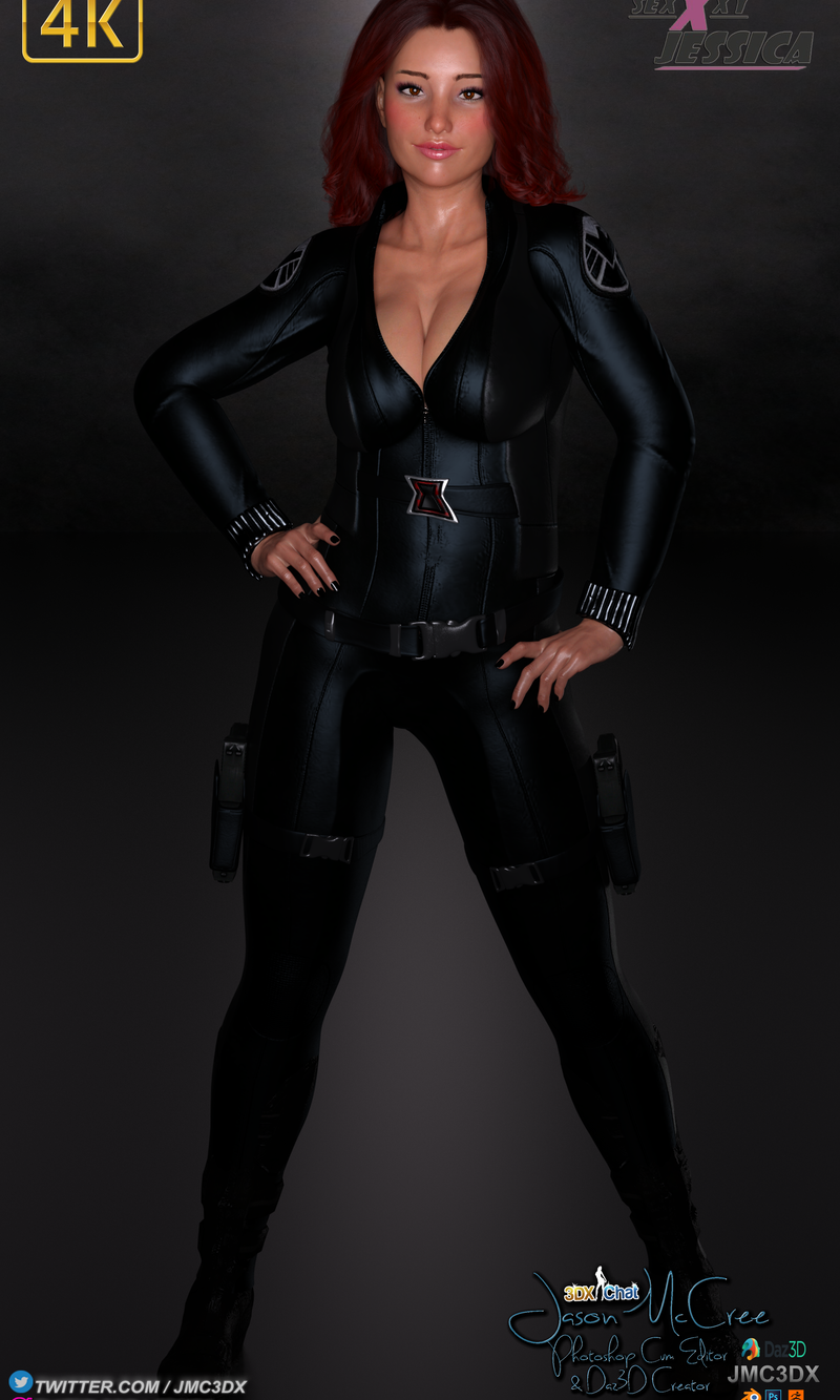 JMC3DX DAZ3D CREATIONS : Sexxxyjessica Cosplay Pics and Animation