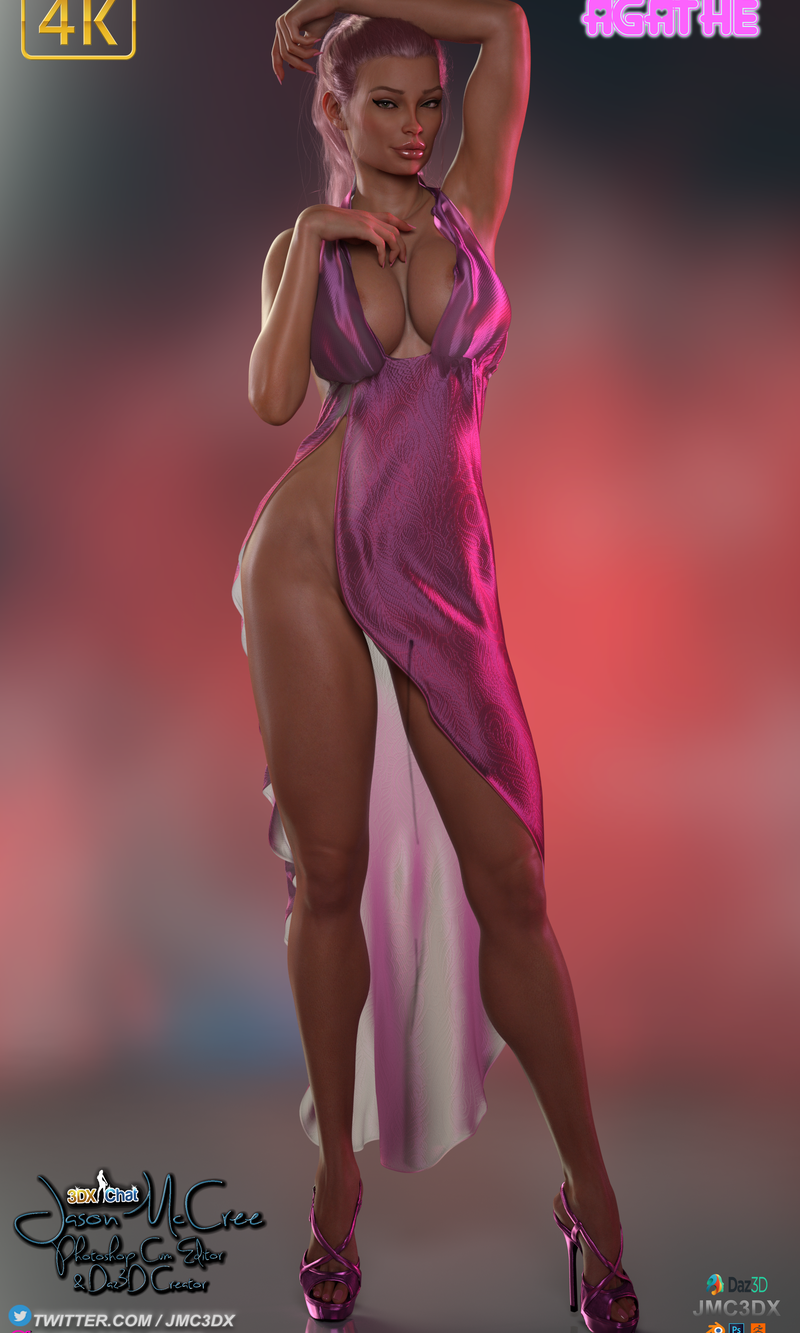 JMC3DX DAZ3D CREATIONS: Agathe from 3dxchat