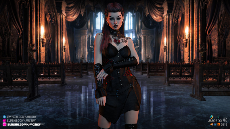 JMC3DX DAZ3D CREATIONS: Goth