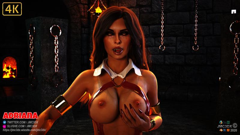 JMC3DX Daz3D Creations: ADRIANA vamp