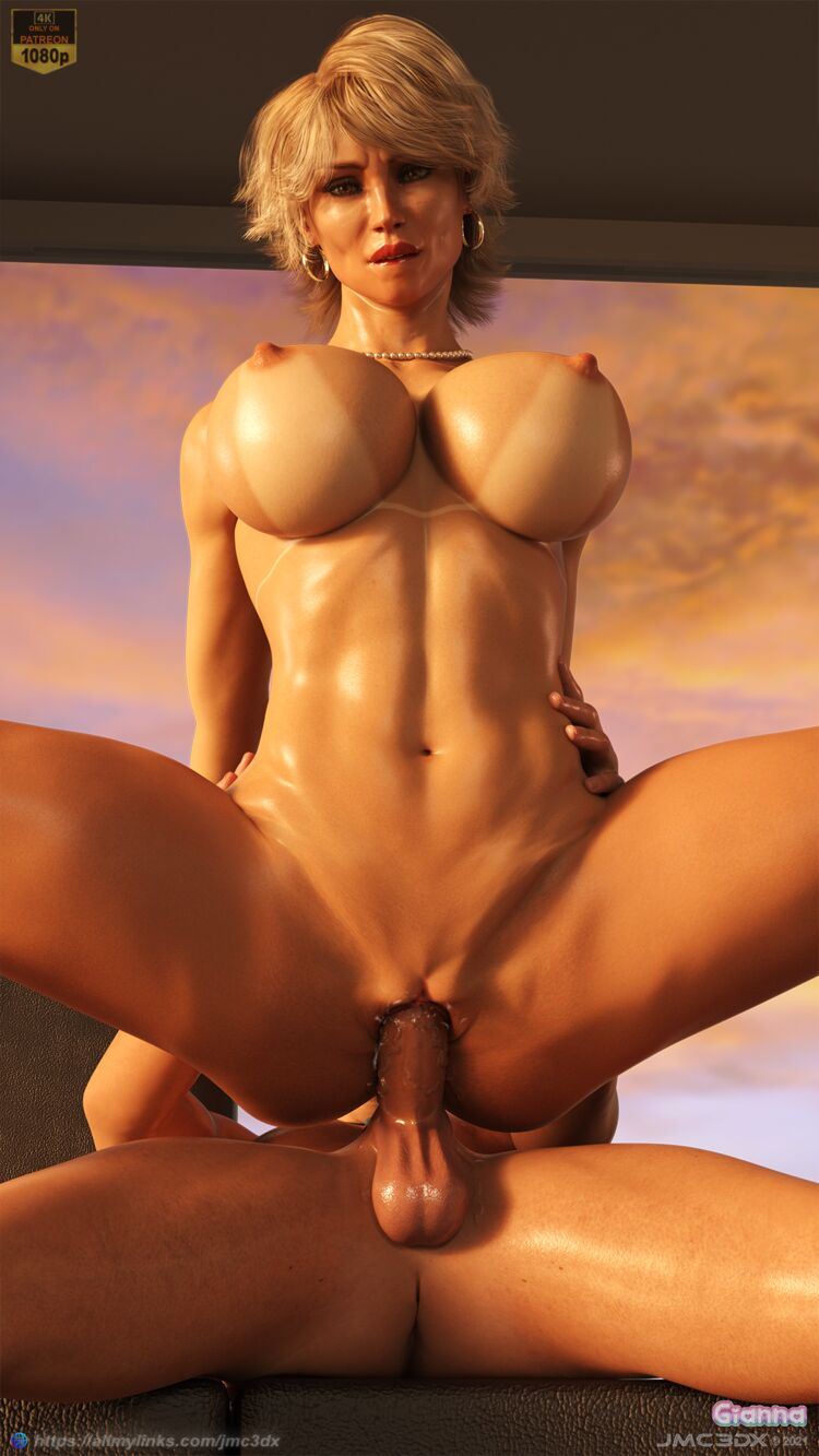 JMC3DX: Gianna - Sunset cowgirl