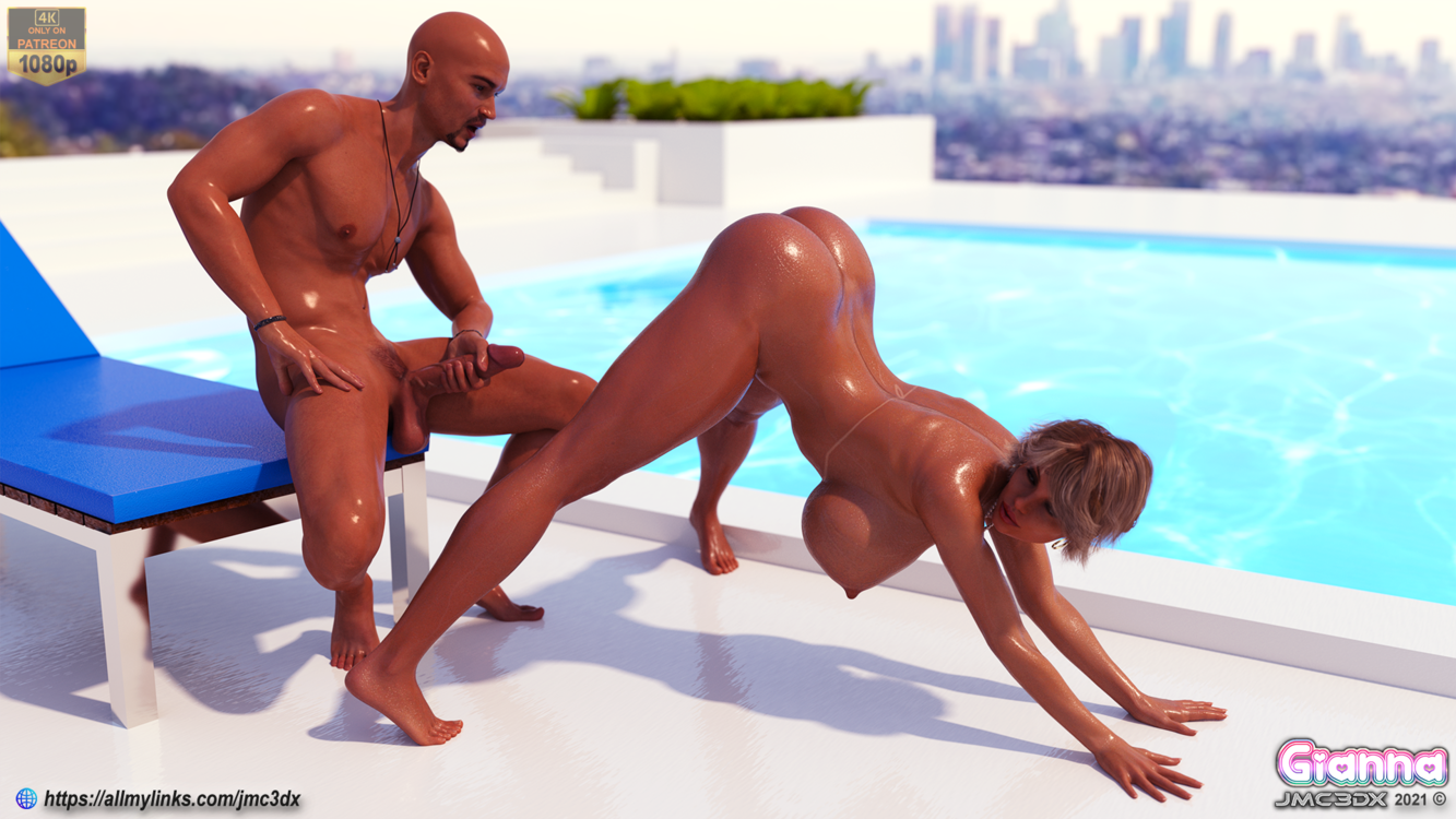 GJMC3DX: Giana - she knows what she wants.... part 2