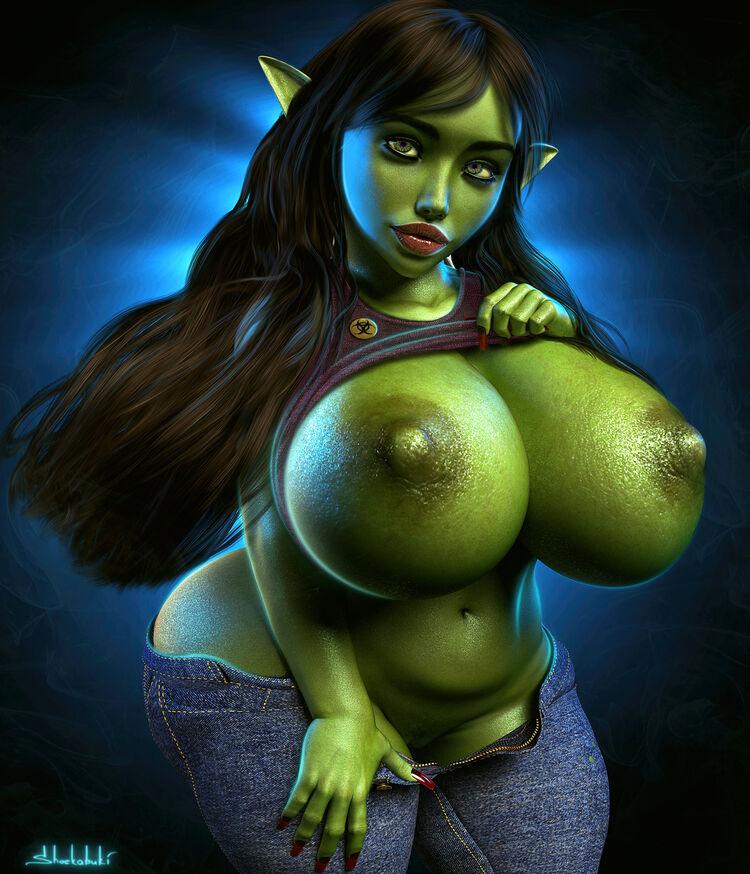 goblin bimbo commission
