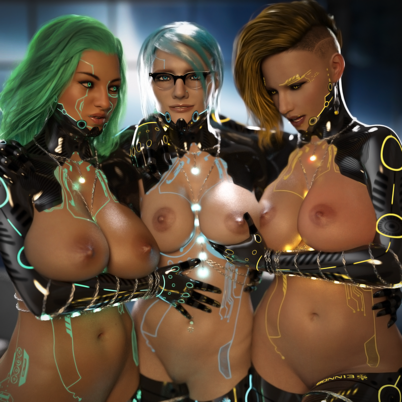 Arna, Elise & Bonnie: Built For Pleasure