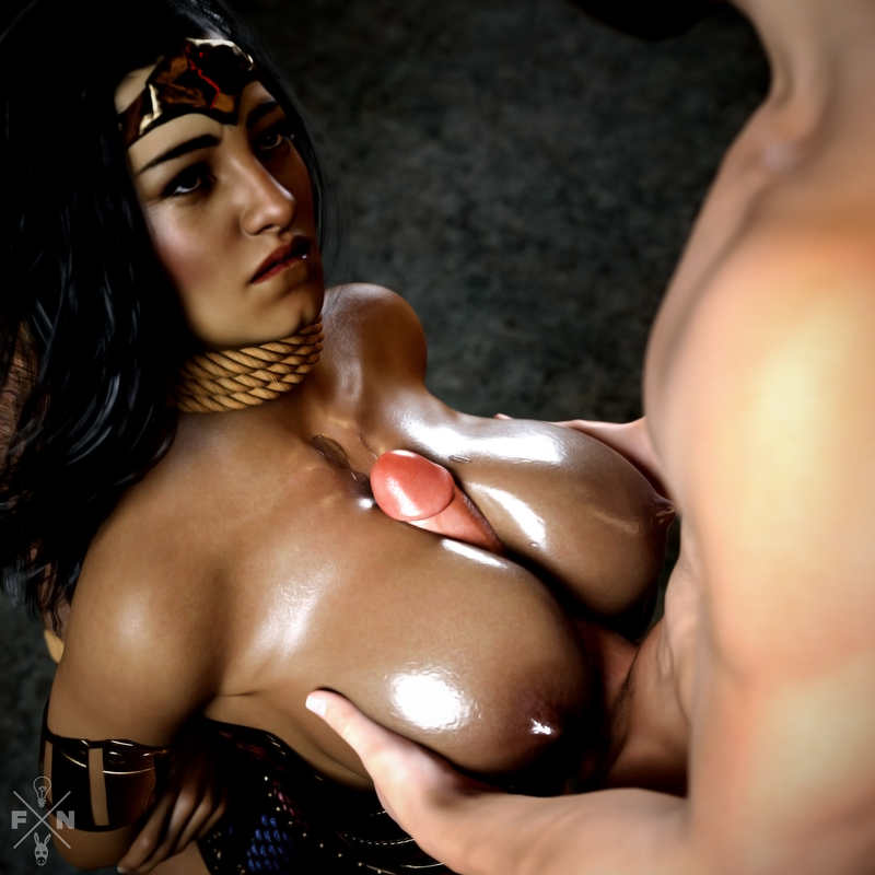 Arna: Wonder Woman - Bound & Gagged