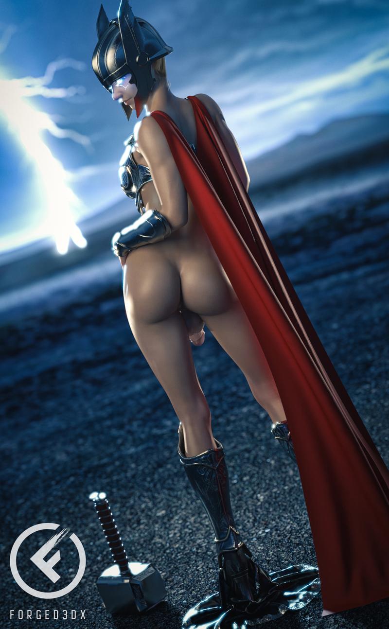 Anya As Thor