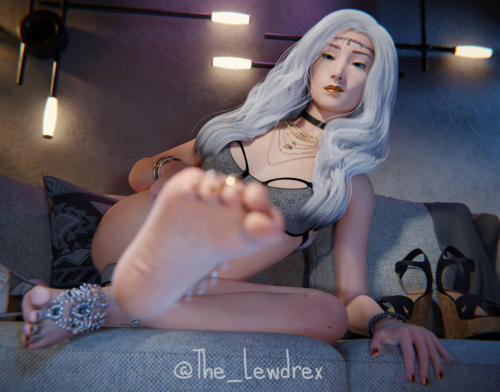 Krystal puts her foot in you're face!