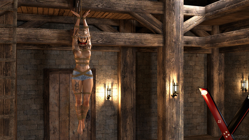 """Scene from """"The_private_museum_of_the_inquisition"""""""
