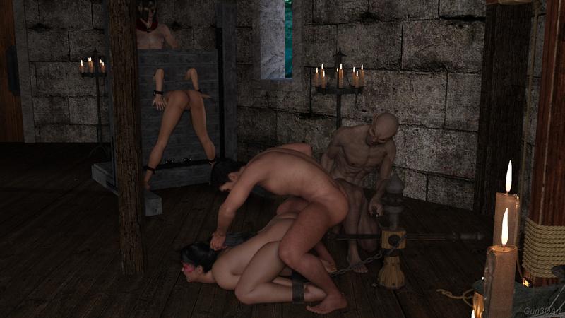 the dark witch - dungeon sample