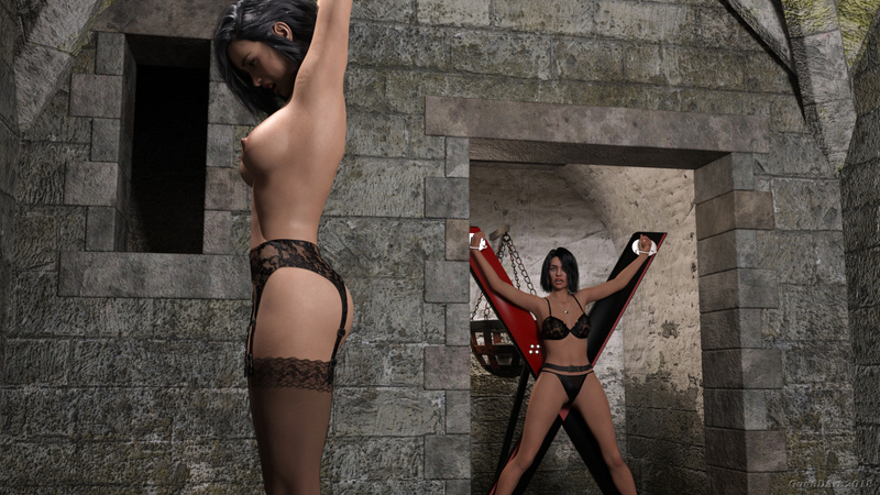 Tales from the dungeon_two girls