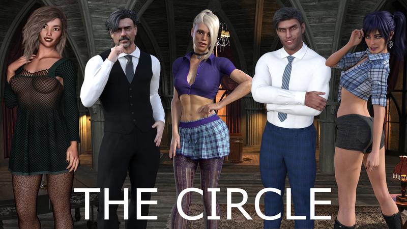 TEASER:  THE CIRCLE        -     A VISUAL NOVEL