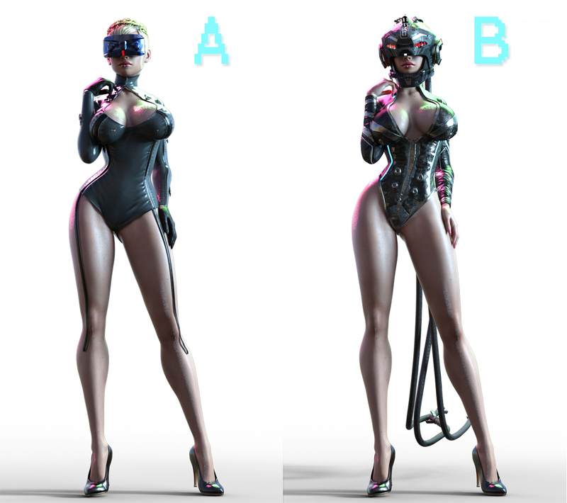Virtual Seduction 2 outfit Poll 1