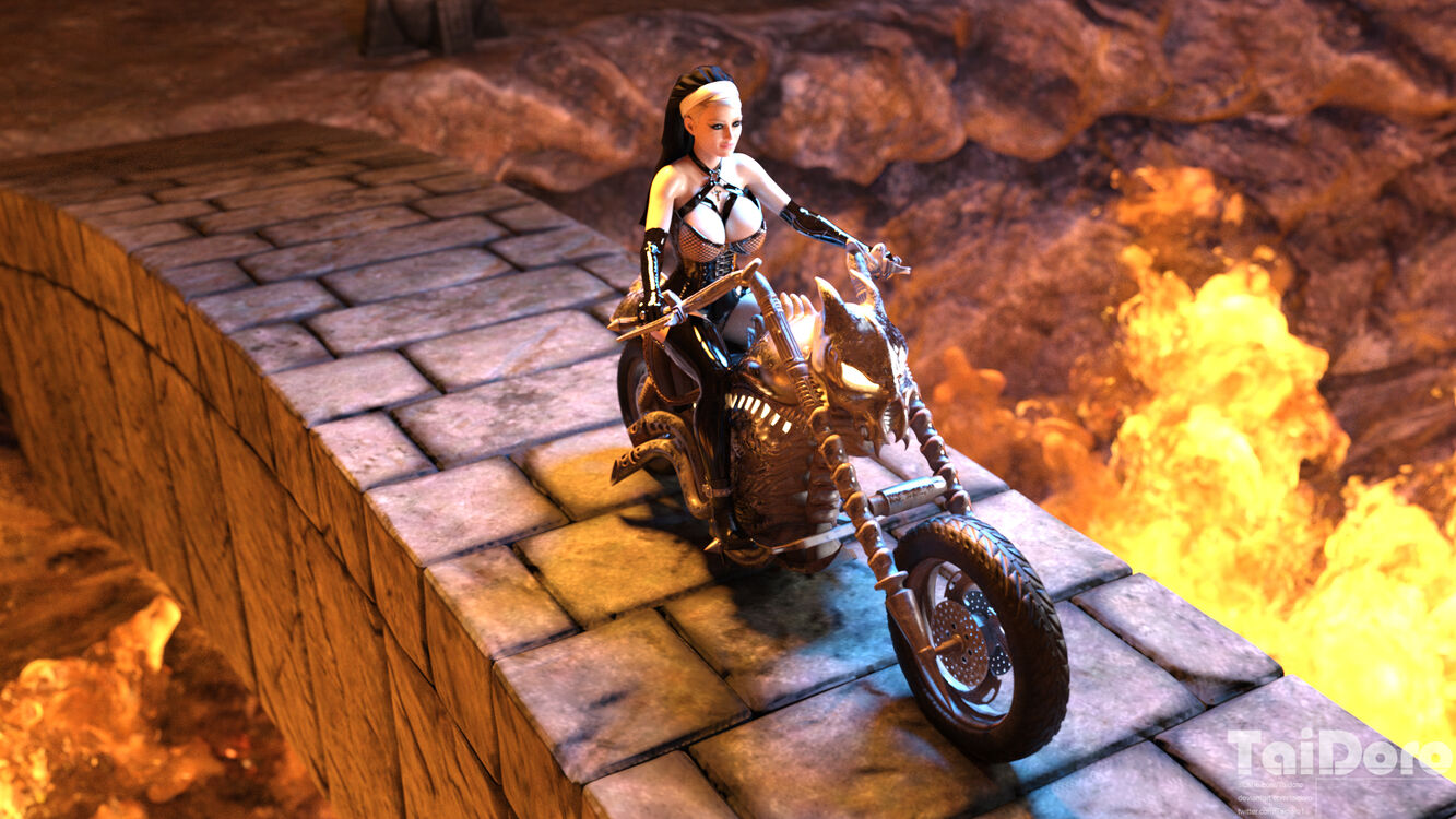 Bikernun in Hell