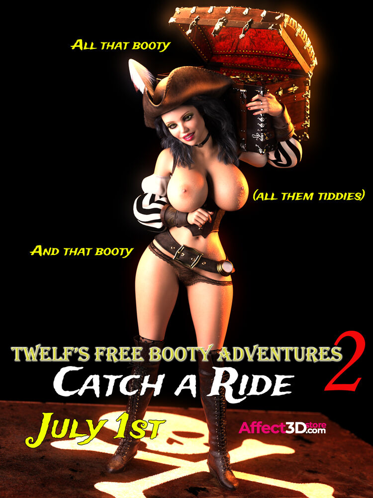 Twelf's Free Booty Adventures 2: Catch A Ride coming July 1st