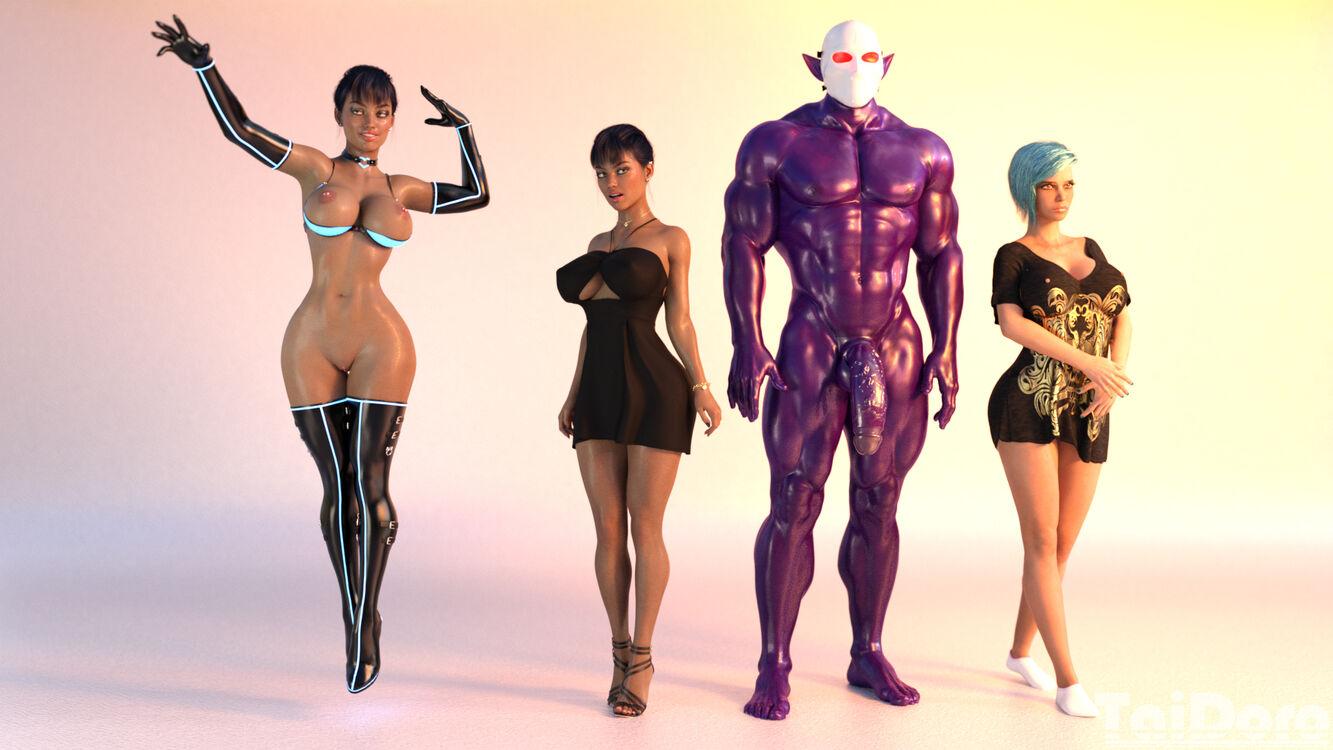 Virtual Seduction: Rebooted Pre-Production stuff
