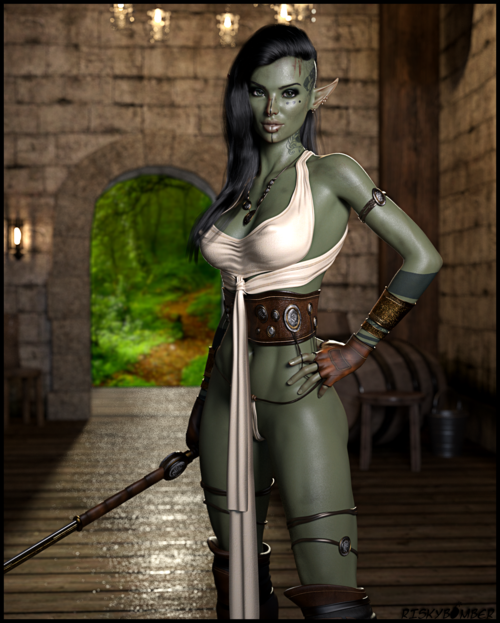Orc Huntress