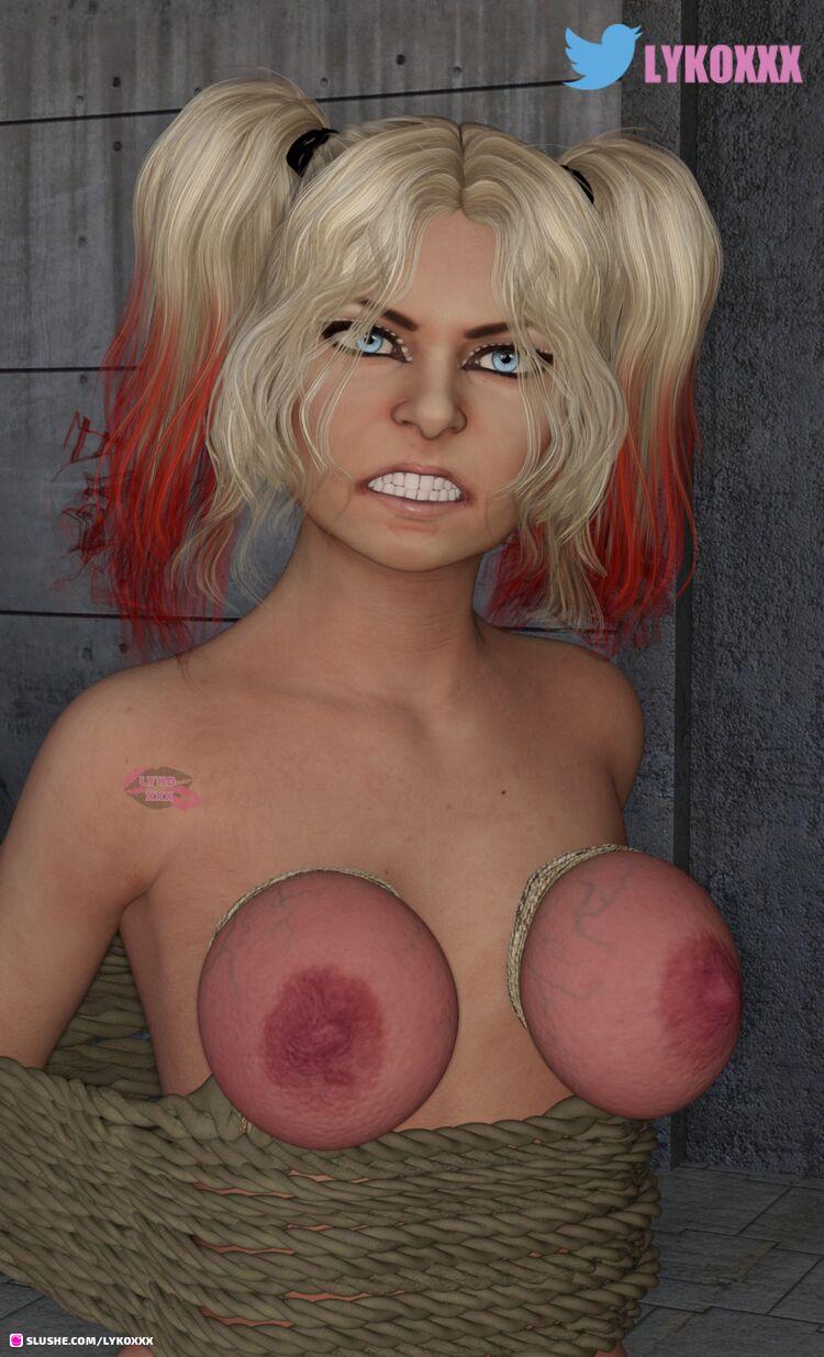 WWE Alexa Bliss tied up