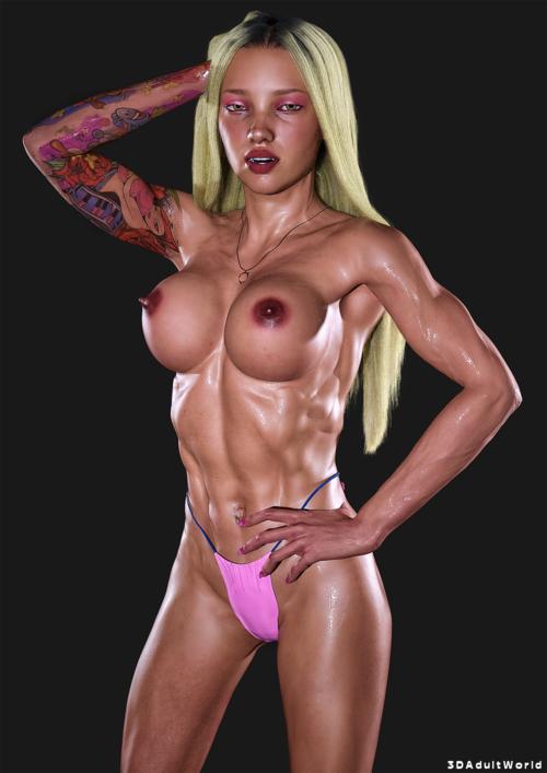 Rikki Sixx - 3DAdultWorld Model