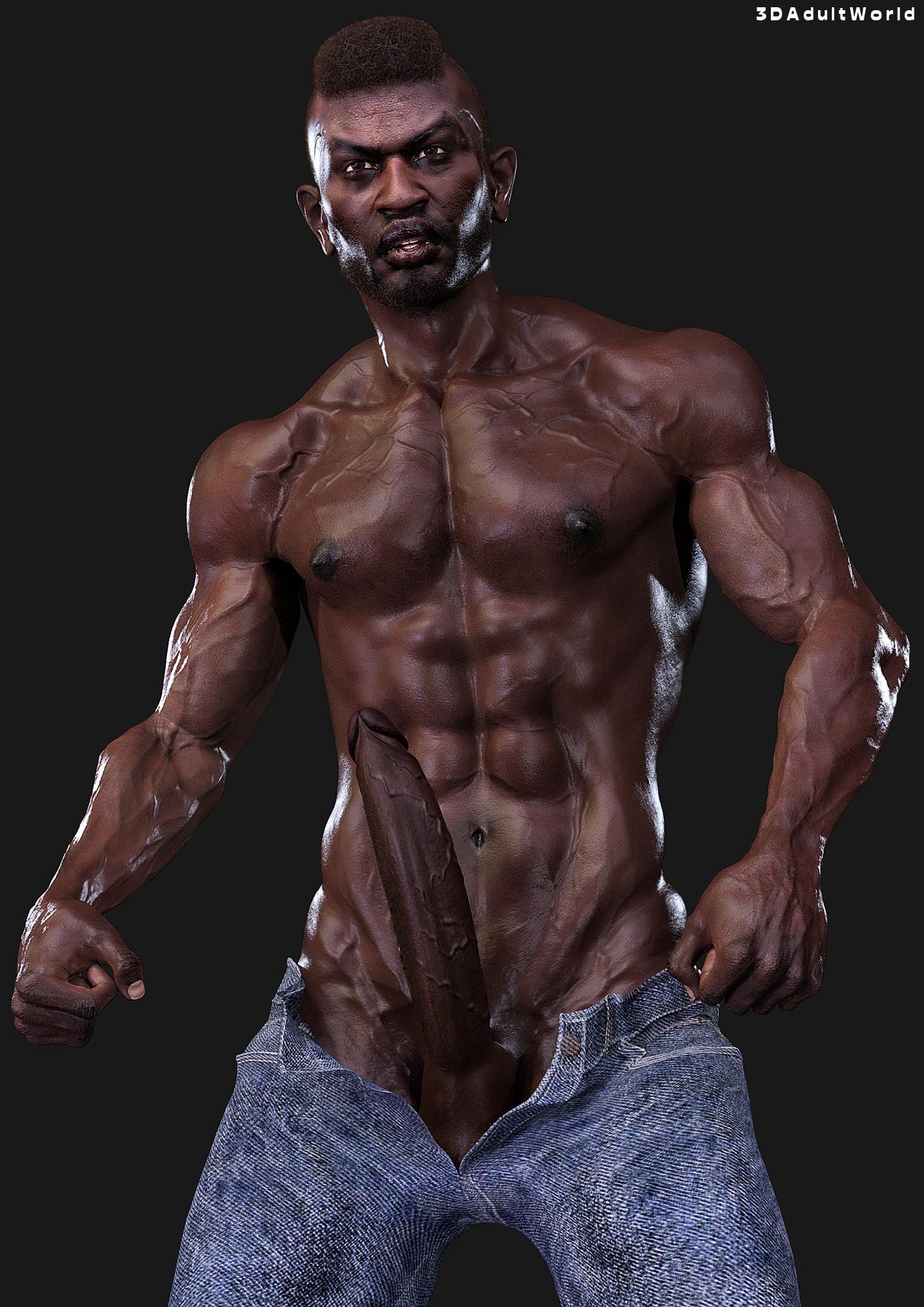 Mandongo - 3DAdultWorld Male Character