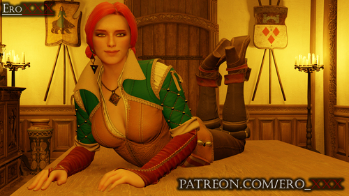 Triss Merigold on the table
