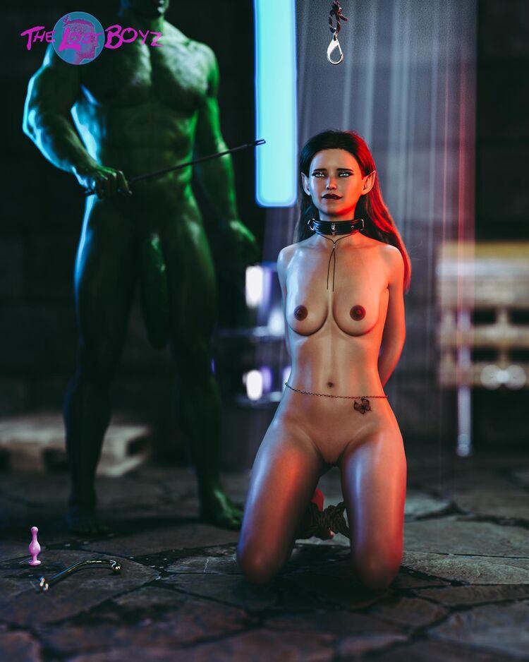 Merlara Gets Punished