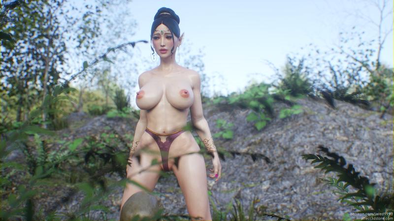 Elf Slave 2 concept