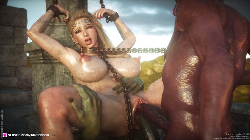 Elf Slave 8 - preview 4