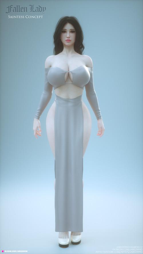 Fallen Lady - concept