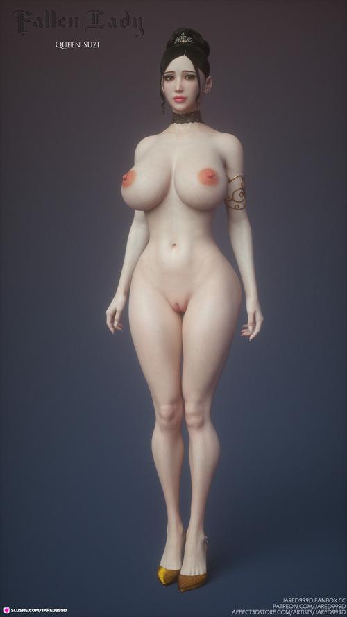 Fallen Lady - Characters 2