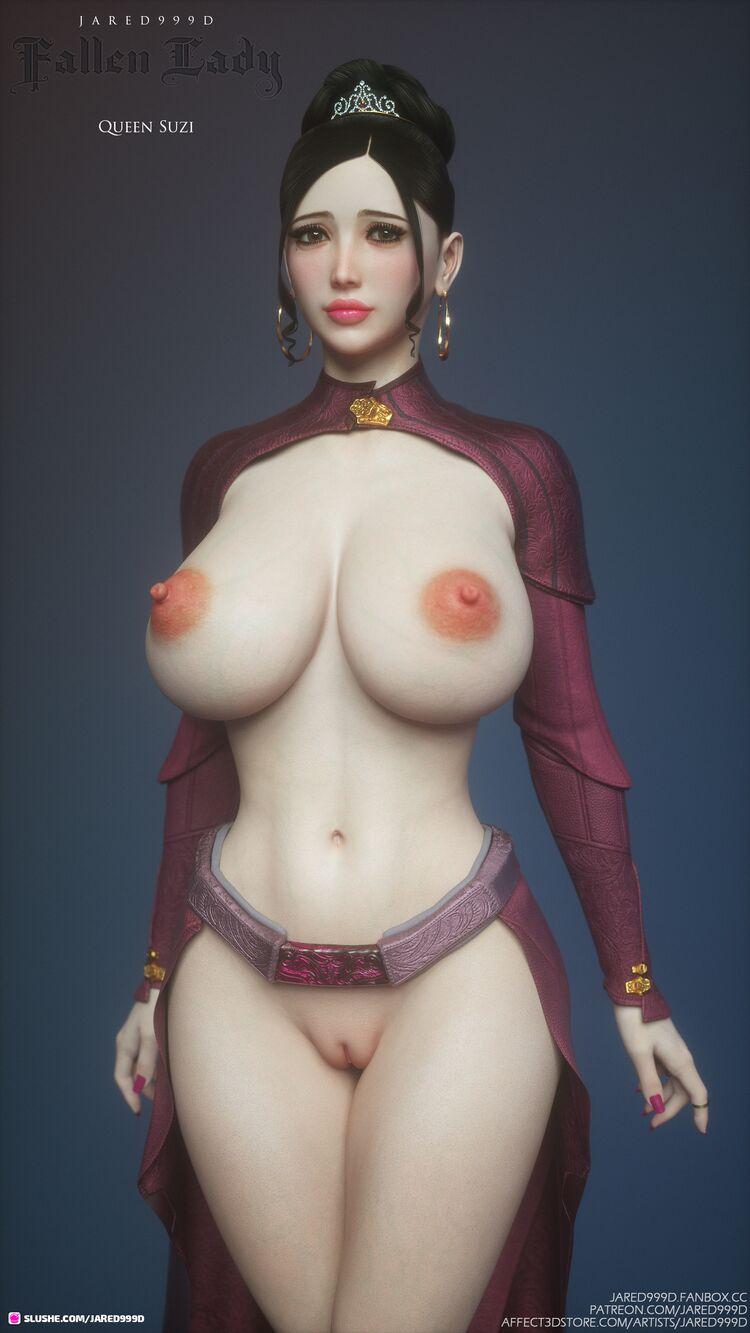 Fallen Lady 2 - characters