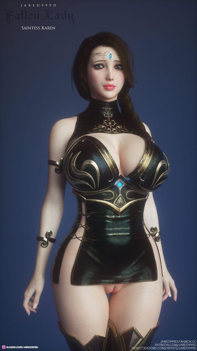Fallen Lady 2 - characters 2