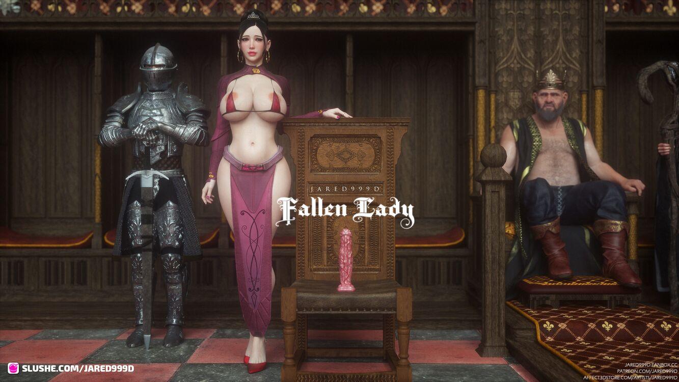 Fallen Lady 2 - preview 2