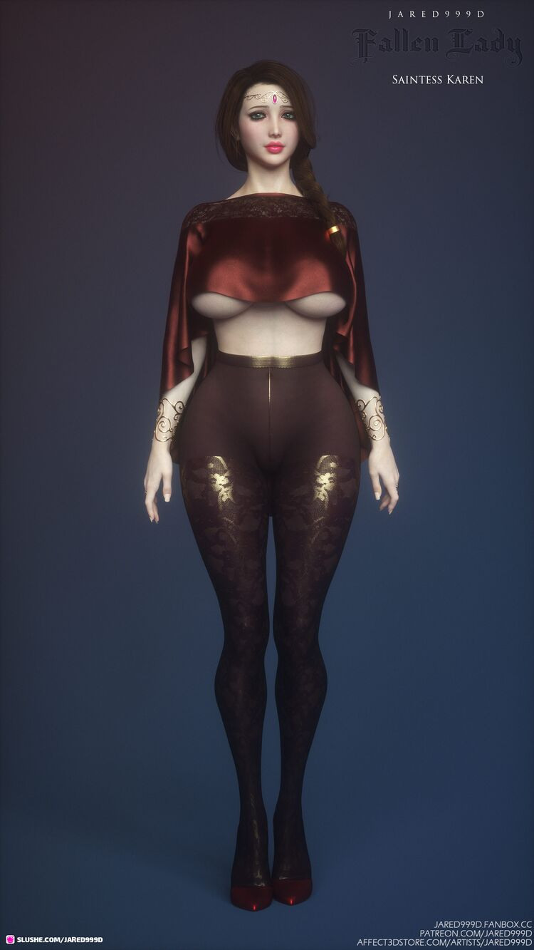 Fallen Lady 3 characters