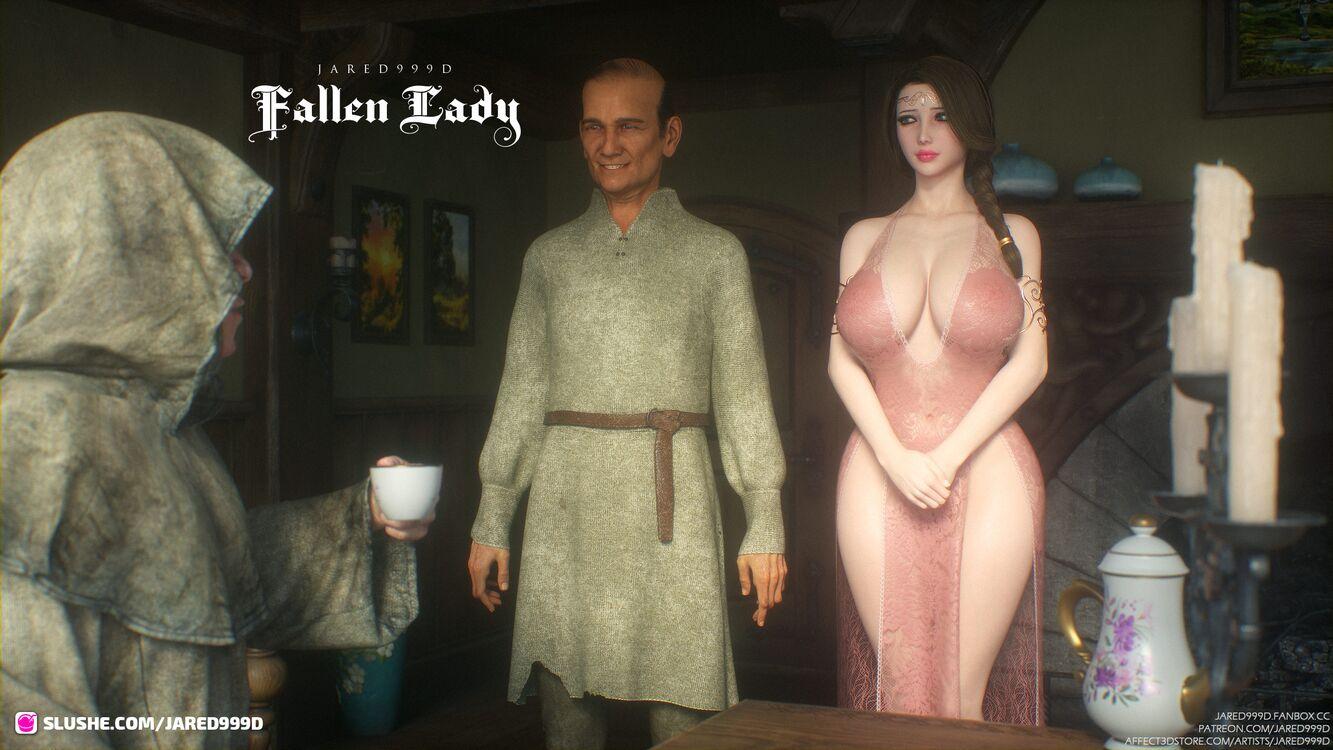Fallen Lady 3 - preview 1