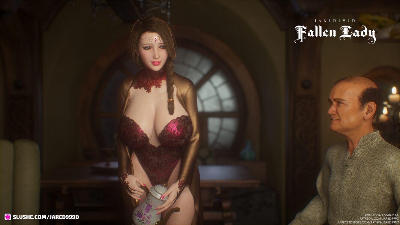 Fallen Lady 3 - preview 2
