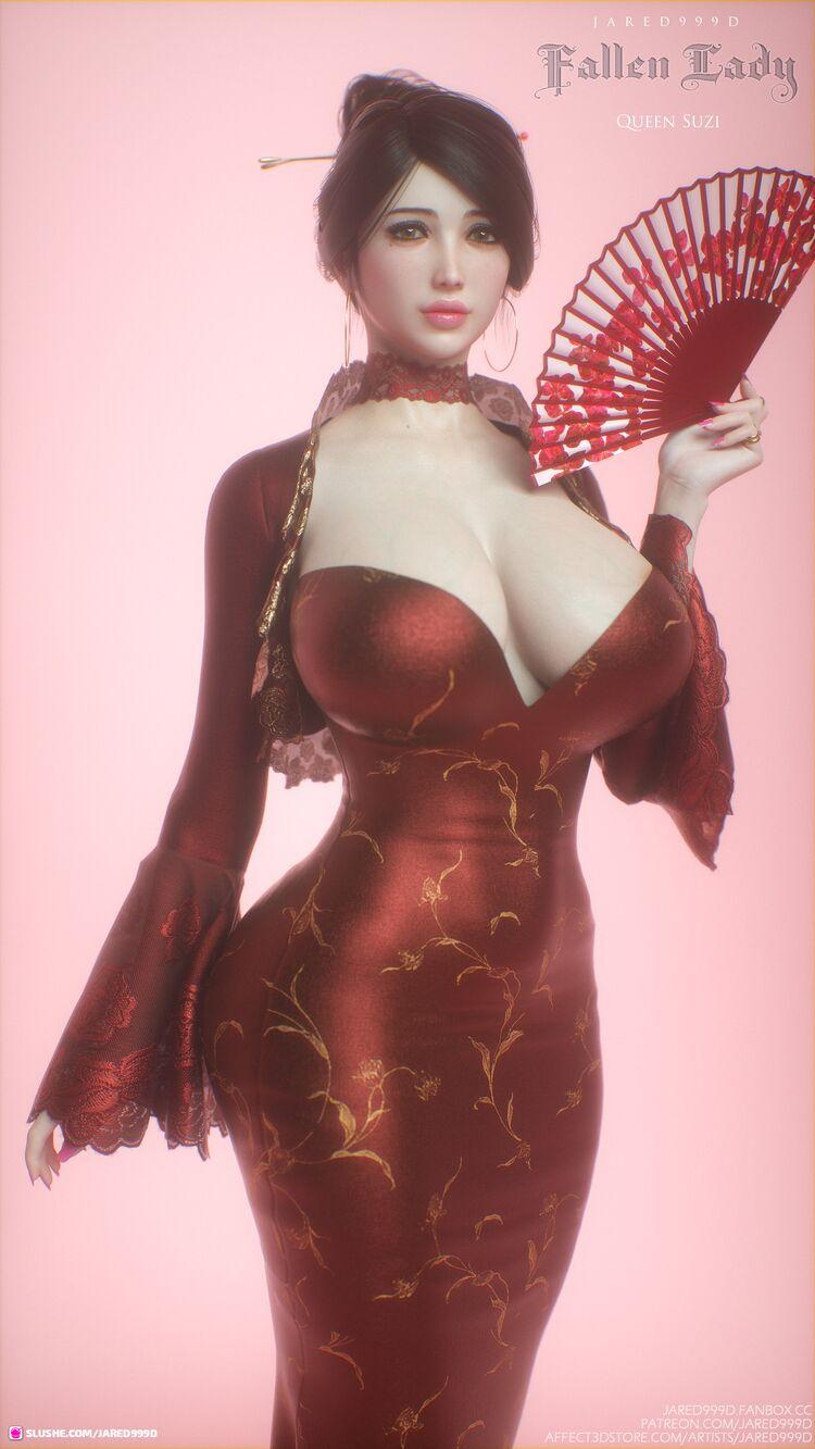 Fallen Lady 3 - characters 2