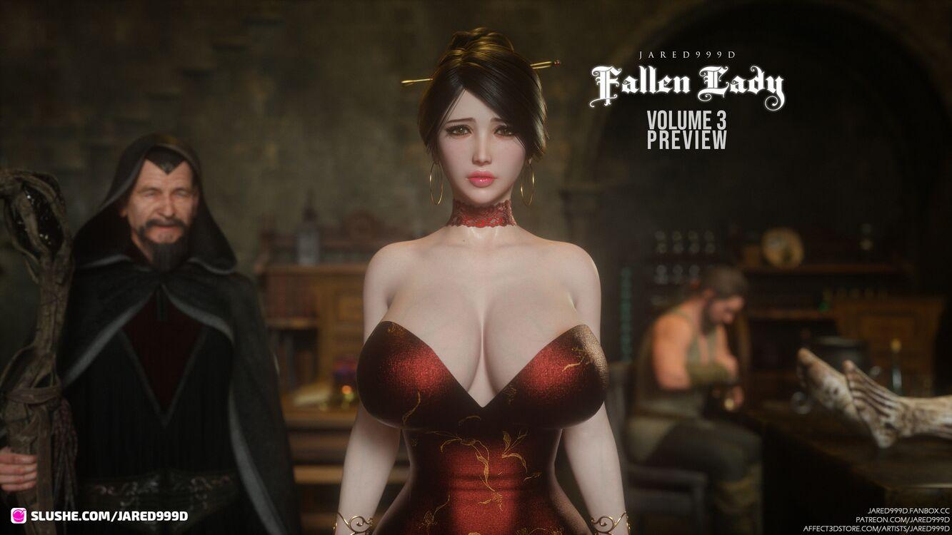 Fallen Lady 3 - preview 3