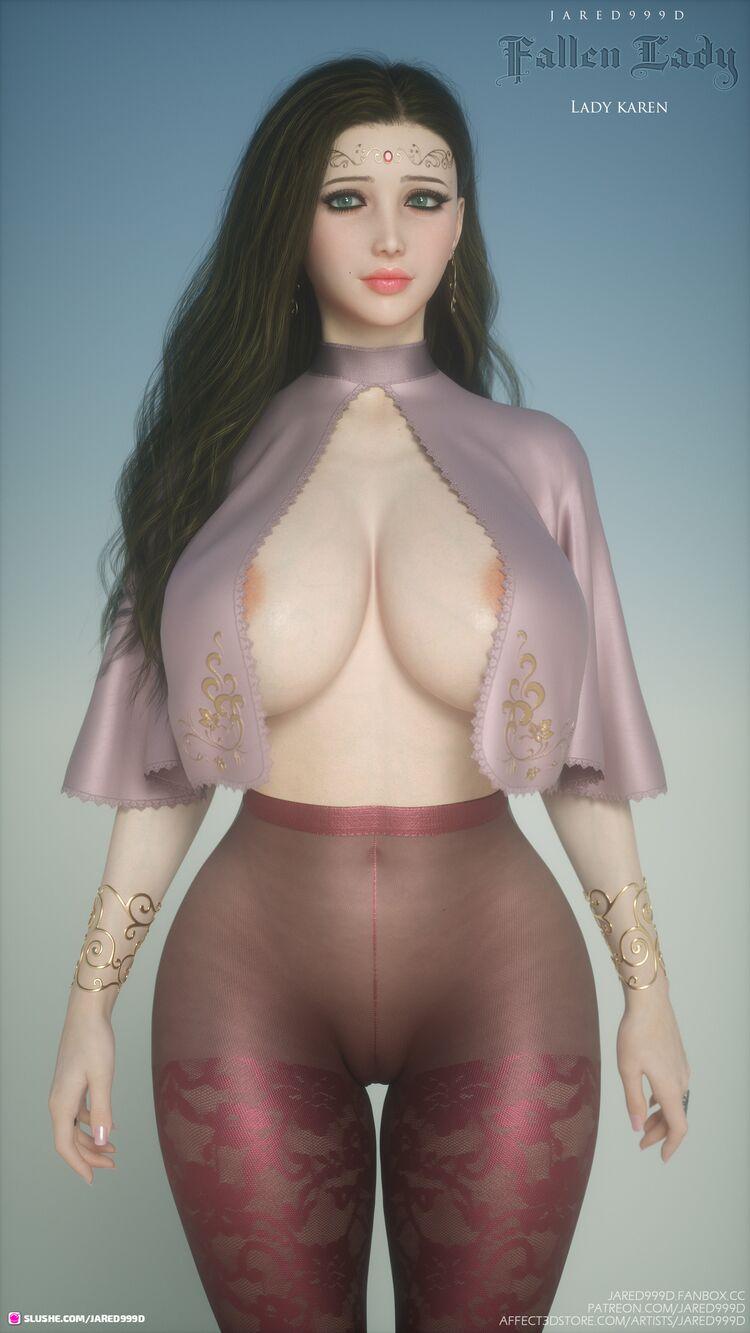 Fallen Lady 4 - Karen's outfits