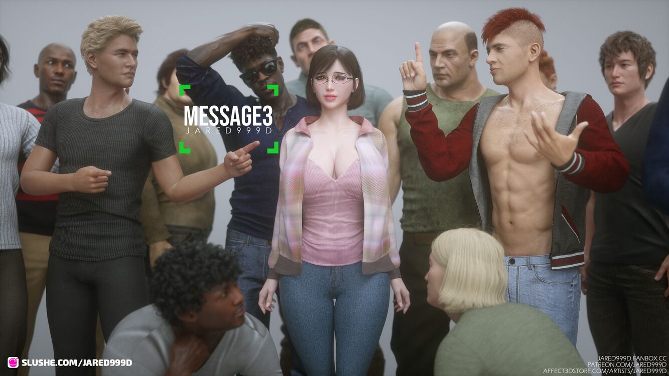 Message 3 - BG characters