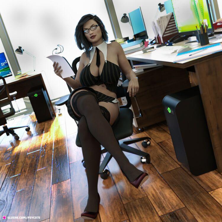 anna at work