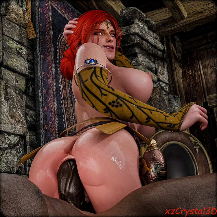 Triss Fucking The Best Cock In Town