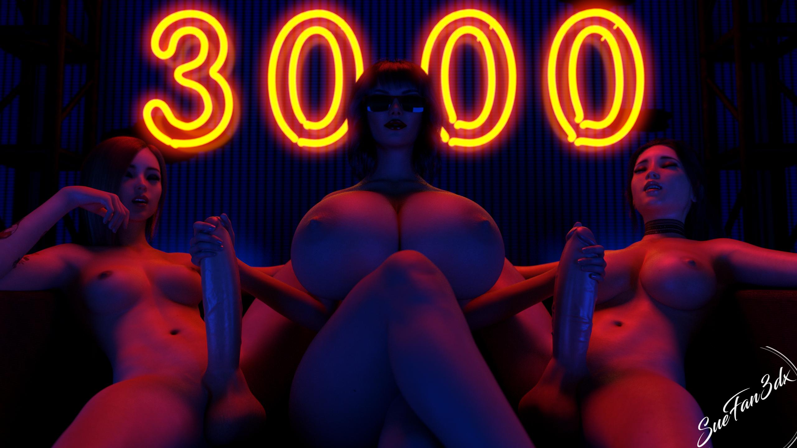 3000 Twitter followers render